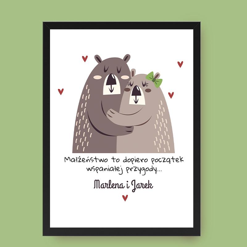 Czy plakat na rocznicę ślubu to dobry prezent?
