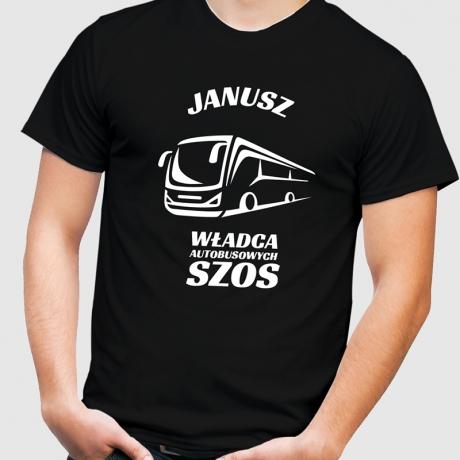 Koszulka z nadrukiem dla kierowcy autobusu