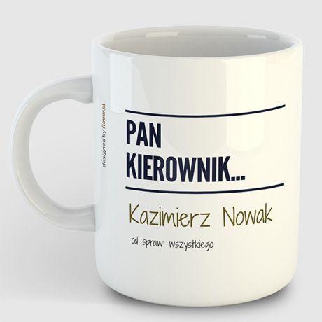 Kubek PAN KIEROWNIK