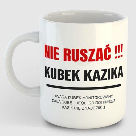 Kubek personalizowany NIE DOTYKAĆ !!!