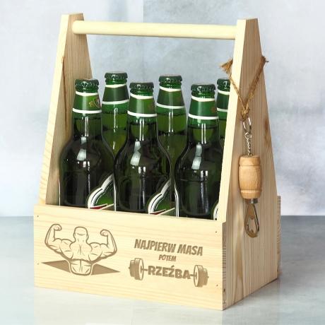 Nosidło na piwo prezent dla kulturysty
