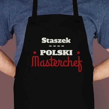 Fartuch z nadrukiem MASTERCHEF (Mistrz Kuchni)