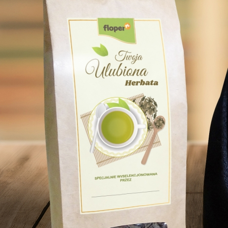 Herbata dla cioci w personalizowanym woreczku