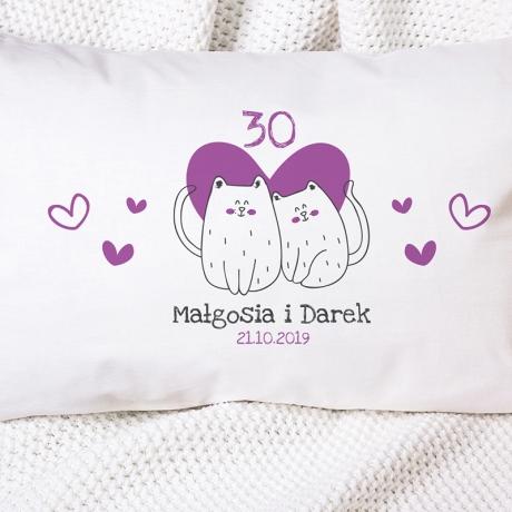 Poduszka 30 rocznica ślubu