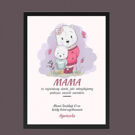 Plakat personalizowany dla Mamy