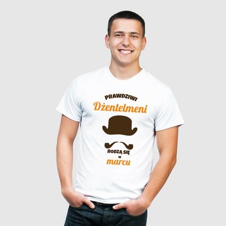 Koszulka męska DŻENTELMEN (Gentleman) 100% personalizacji