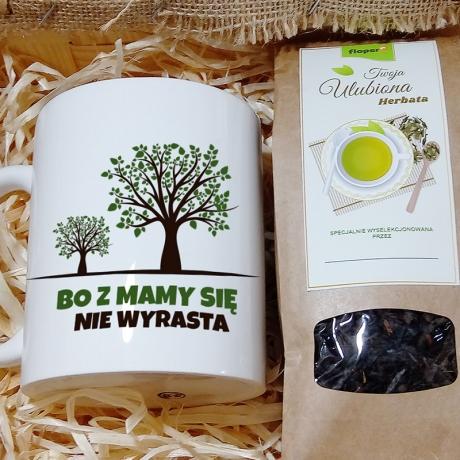Zestaw herbaciany dla Mamy w skrzynce