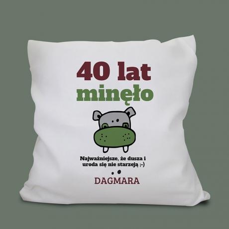 Poduszka na 40 urodziny