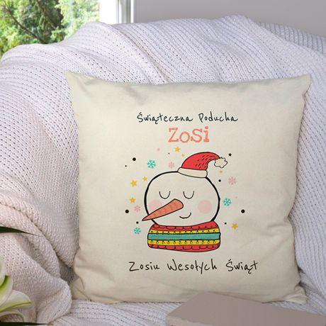 Poduszka świąteczna personalizowana PODUCHA