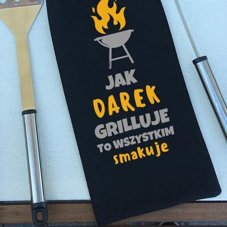 Sztućce do grilla personalizowane