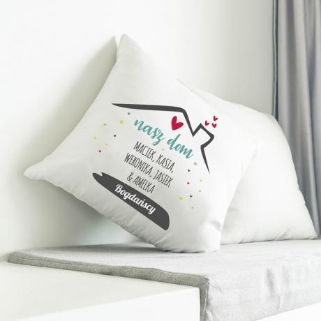 Poduszka rodzina (dla rodziny) personalizowana