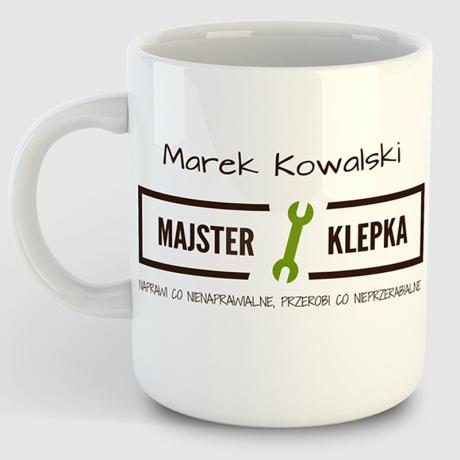Kubek  personalizowany MAJSTER KLEPKA