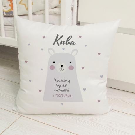 Poduszka MIŚ dla dziecka (do personalizacji)