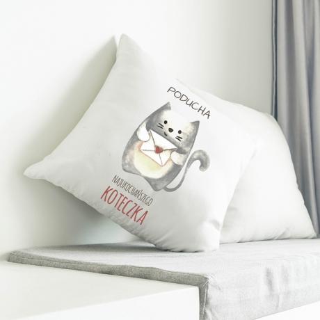 Poduszka (jasiek) z kotem personalizowana