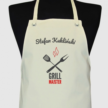 Fartuch personalizowany GRILL MAJSTER