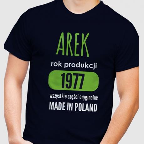 Koszulka męska personalizowana MADE IN POLAND