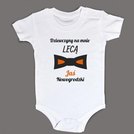 Body niemowlęce dla chłopca (Dziewczyny na mnie lecą)
