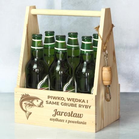 Nosidło na piwo dla wędkarza