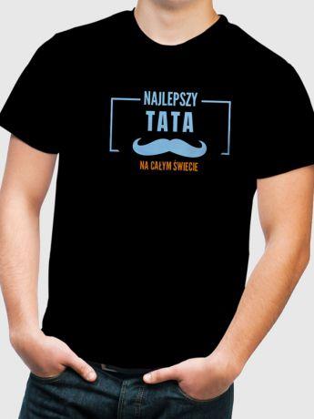 Koszulka z nadrukiem NAJLEPSZY TATA NA ŚWIECIE