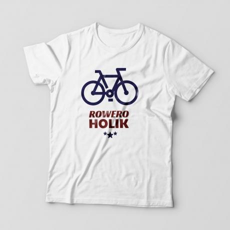 Koszulka dla fana roweru roweroholik