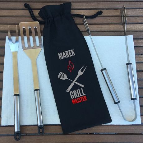 Personalizowane sztućce do grilla MAJSTER GRILL