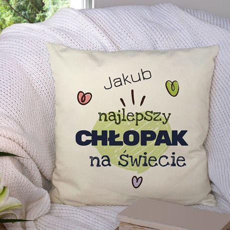Poduszka na Dzień Chłopaka