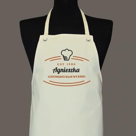 Fartuch personalizowany dla kucharza