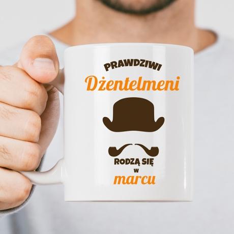 Kubek Gentlemana (DŻENTELMENA) personalizowany