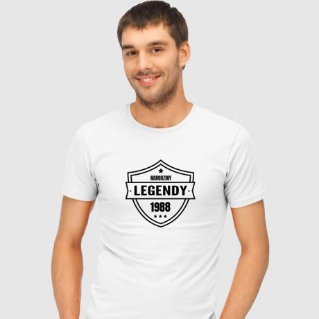 Koszulka męska NARODZINY LEGENDY