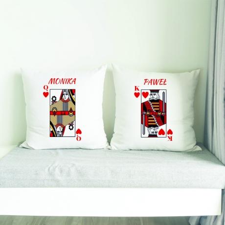 Poduszka dla niej i dla niego