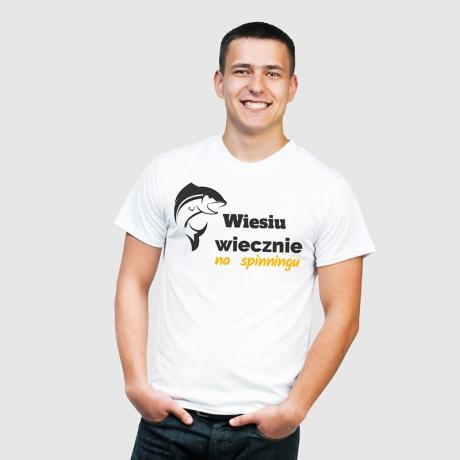 Koszulka personalizowana dla Wędkarza