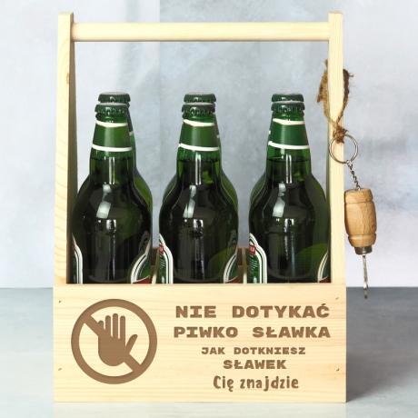 Nosidło na piwo z otwieraczem
