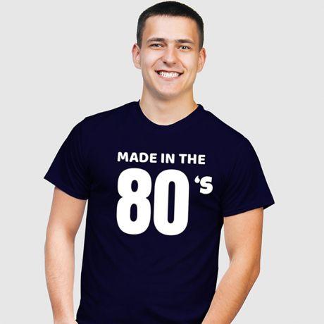 Koszulka męska z nadrukiem MADE IN