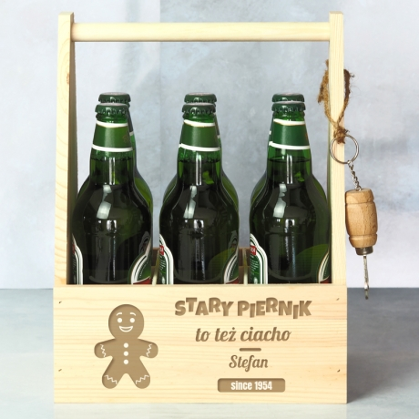 Nosidło na piwo prezent na urodziny
