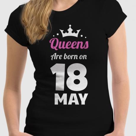 """Koszulka damska z nadrukiem """"Queen"""""""