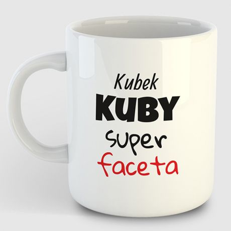 Kubek  personalizowany SUPER FACET