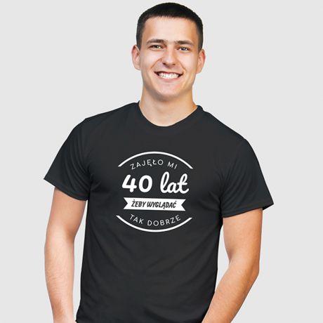 Koszulka męska personalizowana ZAJĘŁO MI