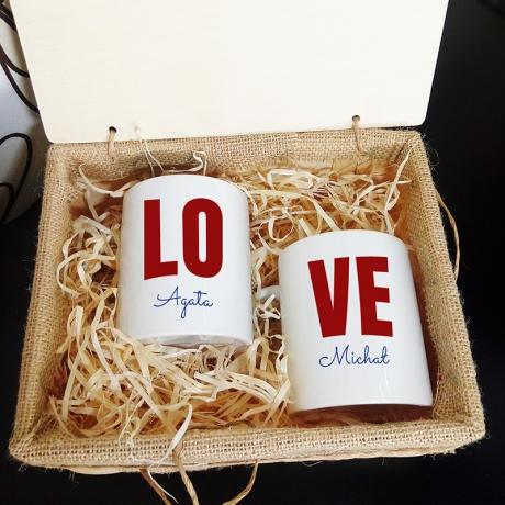 Kubki dla zakochanych