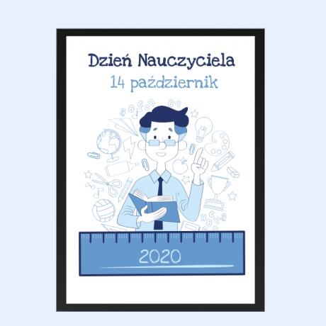 Plakat na Dzień Nauczyciela